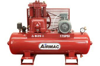 Airmac B29 415V - Premium Quality Airmac Range - Reciprocating Air Compressors - Glenco Air Power