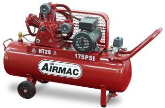 Airmac HT20 240V 175psi - Premium Quality Airmac Range - Reciprocating Air Compressors - Glenco Air Power