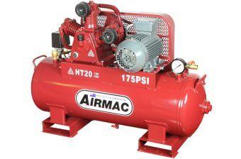 Airmac HT20 415V - Reciprocating Air Compressors - Glenco Air Power