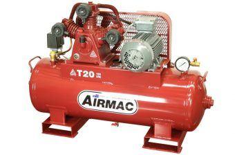 Airmac T20 415V - Reciprocating Air Compressors - Glenco Air Power